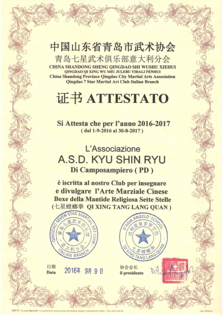 attestato_qingdao_2016_2017