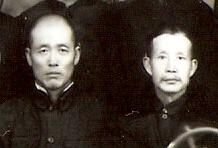 Hu Rong Fu (a sinistra) e Li Zhan Yuan (a destra)