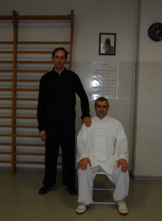 Maestro Renato Busolin e Maestro Angelo D'Aria