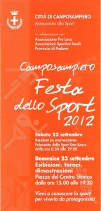 Festa Sport Camposampiero 2012