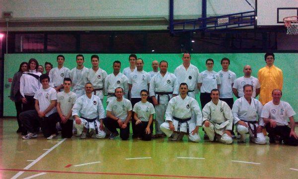 Incontro con l'Accademia del Karate di Camposampiero