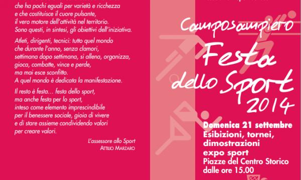 Camposampiero, Festa dello Sport 2014