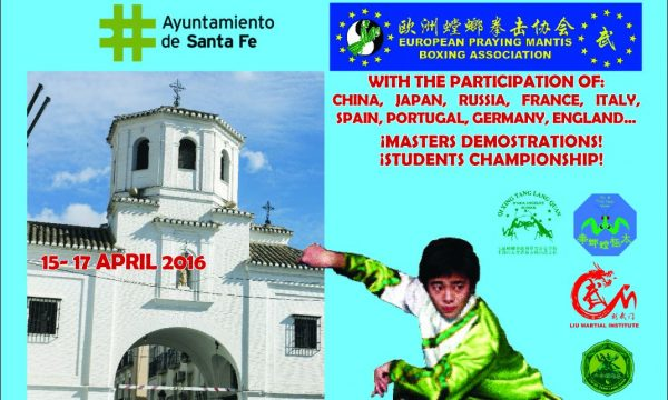Primo Raduno Internazionale Tang Lang Quan Spagna 2016