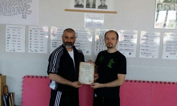 Diploma di Istruttore per Leonardo