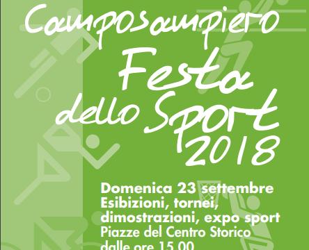 Camposampiero, Festa dello sport 2018