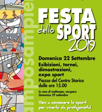 Feste dello sport 2019